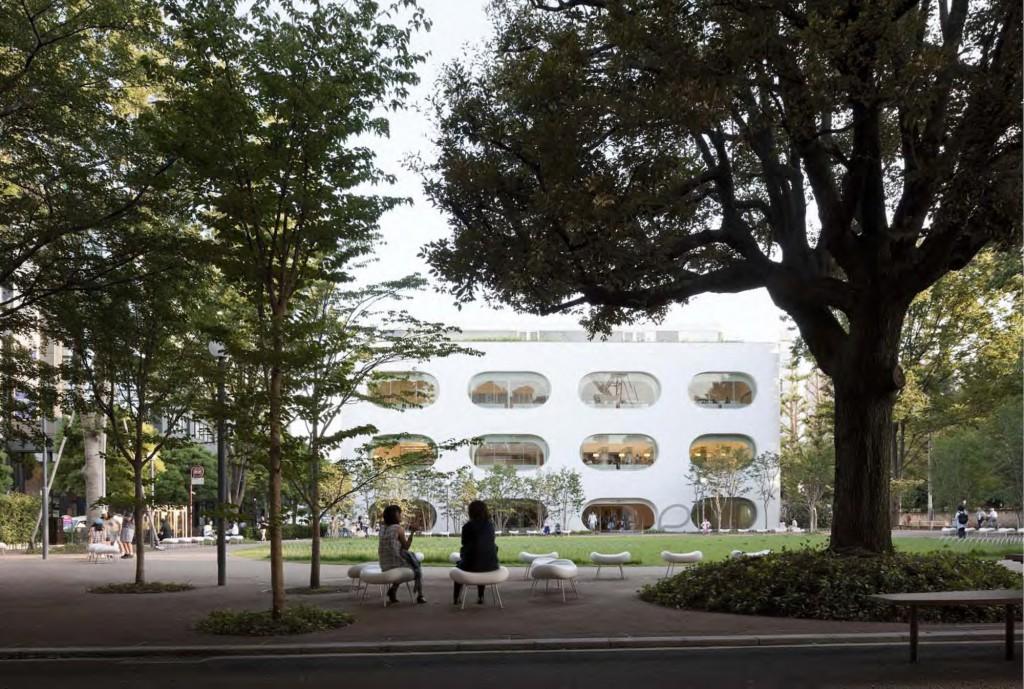 ひと・まち・情報創造館 武蔵野プレイス・境南ふれあい広場公園 2011年のオープン以来、年間160万人の来館者があり、あらゆる世代が集う交流の場となっています。 ©SHIMIZU KEN