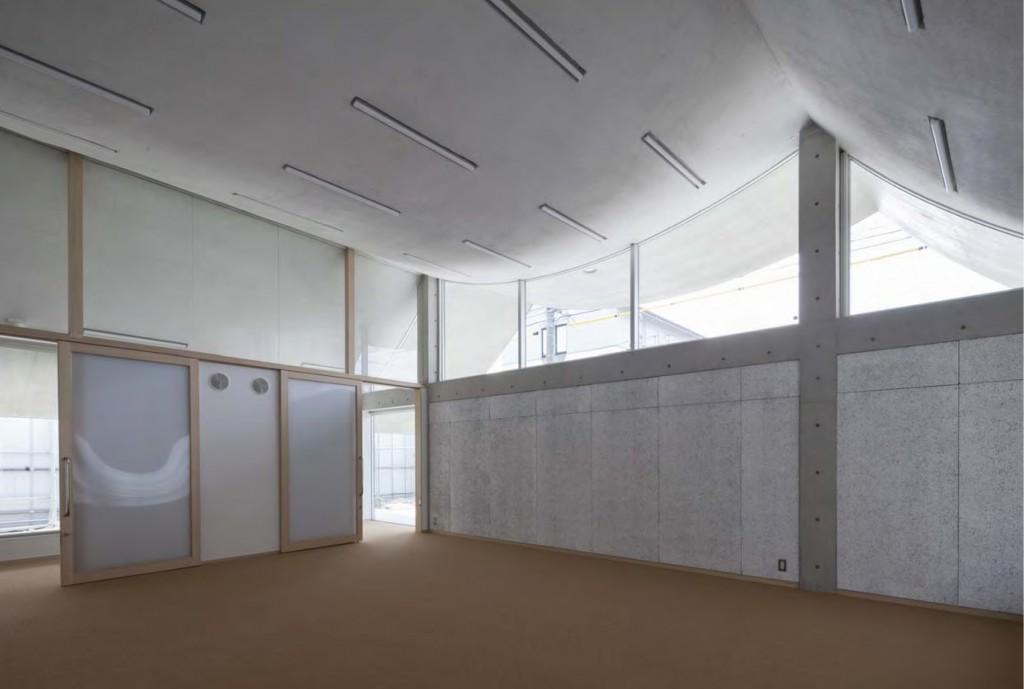 岐南町庁舎 保健相談センター指導室 ©小川重雄