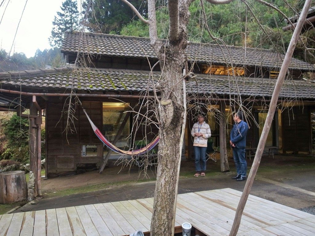 図15:神山町の誘致により進出したベンチャー企業のサテライトオフィス。牛小屋をリノベーション。