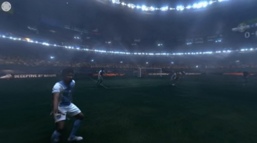 ネイマールの目線からサッカーが体験できるVR  https://www.youtube.com/watch?v=bBZhuqPRx9c(360°動画)