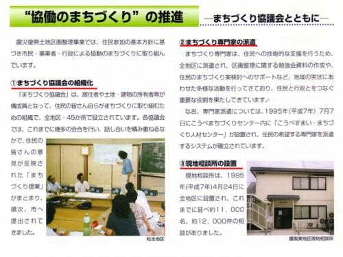 図6 神戸の協働のまちづくり方式(3点セット)