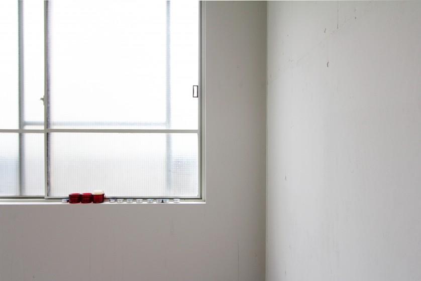 ©Yasuaki Morinaka 1階個室。倉庫時代のスチールサッシ