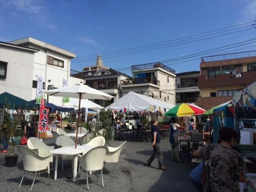 地域の事業者+商店街と立上げたおうめマルシェ