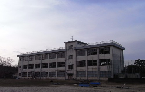 写真5:改修前RC校舎