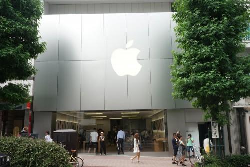 図4:アップルストア渋谷店