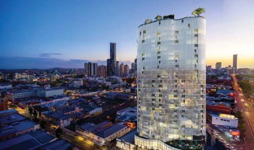 フォーティチュード・バレープロジェクト 鹿島オーストラリア傘下子会社施工案件。投資家の購入者が多い、大都市近郊の大型案件の例。