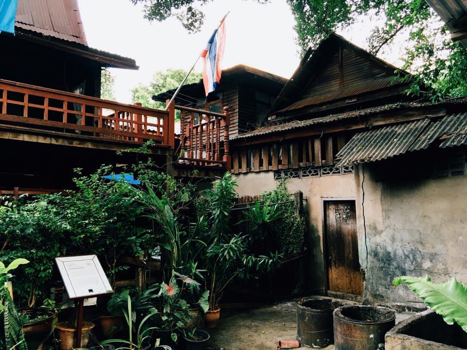 マハカーン要塞内コミュニティ解体前の様子 Photo:Supakarn Ruangdej (2016年8月撮影)