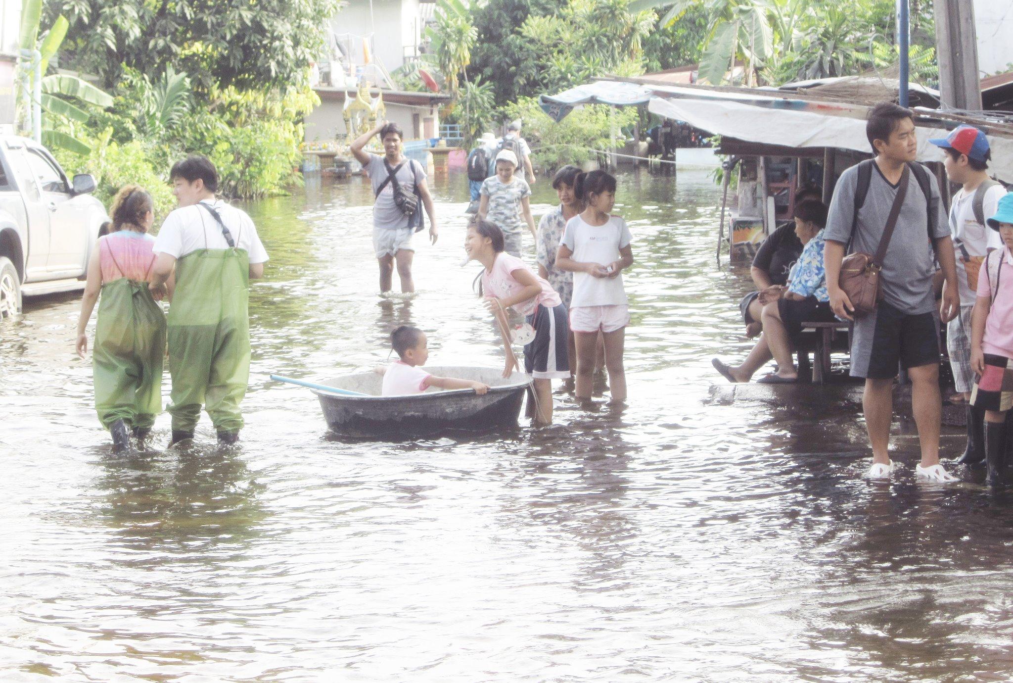 2011年11月のバンコク(筆者撮影)