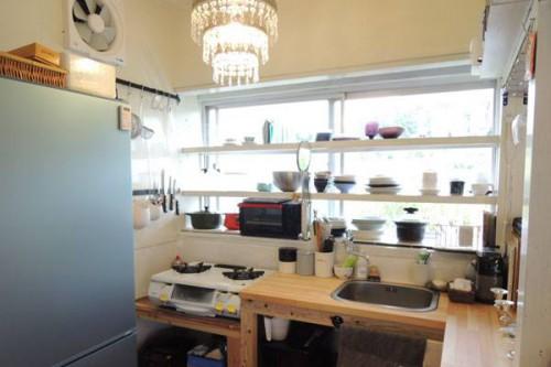台所は大工を雇って大幅に改修(画像提供:芳澤瞳)