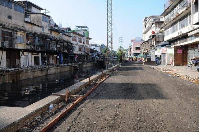 サパーンレク市場、解体後  出典:Bangkok Metropolitan Administration