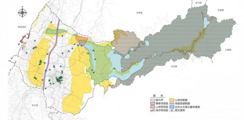 (条件発展区域図 出展:台中市政府)