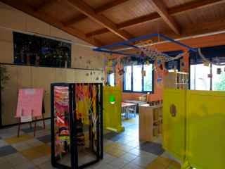 イタリア(レッジョエミリア市)の幼稚園の様子
