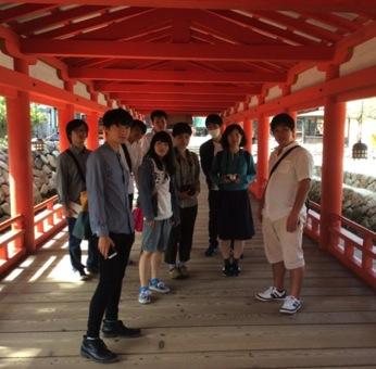 ゼミ合宿で厳島神社へ