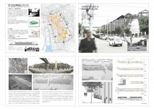 「やきもの散歩道地区」をリノベーションするための手法の提案。