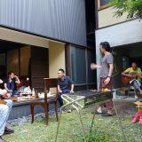 ぼっこでっこ建築隊、永倉町の住宅へゆく。
